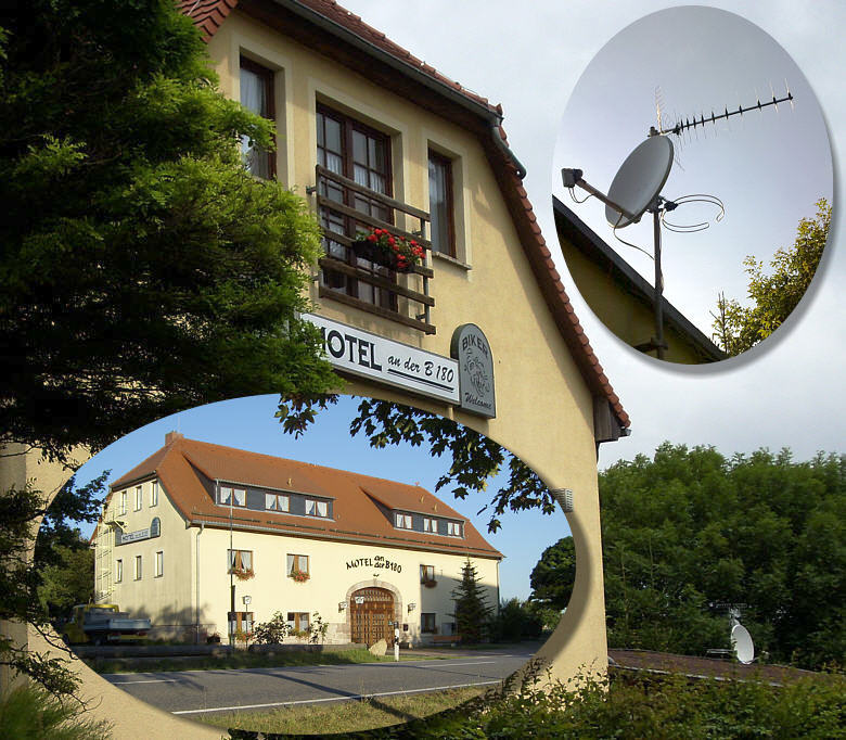 Antennenanlage - Motel an der B180 in Steigra