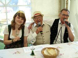 Musikalische Weinverkostung zum Sommerweinfest in Steigra am 26.06.2010