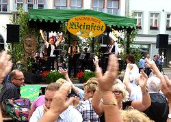 Die Steigraer Musikanten zum Naumburger Weinfest am 25.08.2013