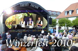 Winzerfest in Freyburg im Künstlerkeller mit den Steigraer Musikanten am 11.09.2010